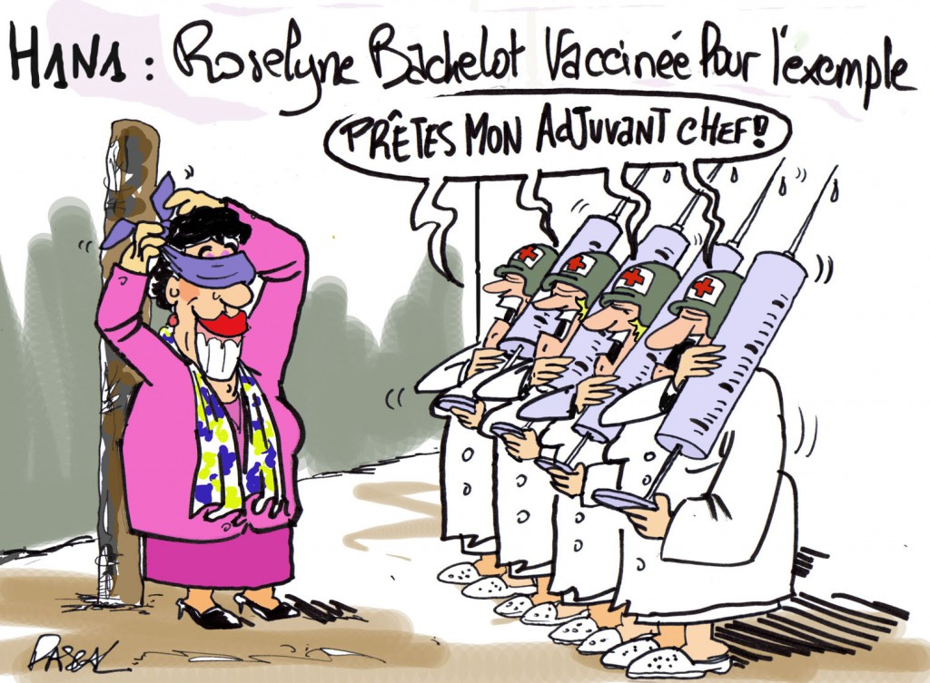 GRIPPE - VACCINATION - HUMOUR