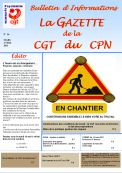 enquete satisfaction - gazette- cgt cpn-